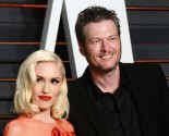 Celebrity Couple News: Gwen Stefani Wears Sheer Dress with Blake Shelton at Oscars After-Party