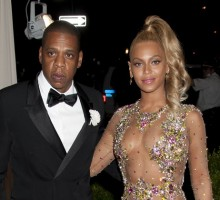 Celebrity Couple Jay-Z and Beyonce Dance to 'Formation' at Grammys Afterparty