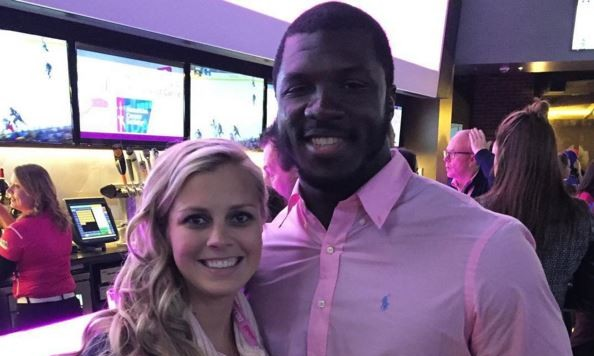 Brittany Burns and Tony Steward. Photo: Instagram