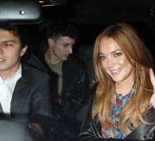 Celebrity Couple News: Lindsay Lohan & Egor Tarabasov Are Red Carpet Official
