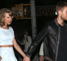 Celebrity Couple News: Taylor Swift & Calvin Harris Enjoy Steak-FIlled Date