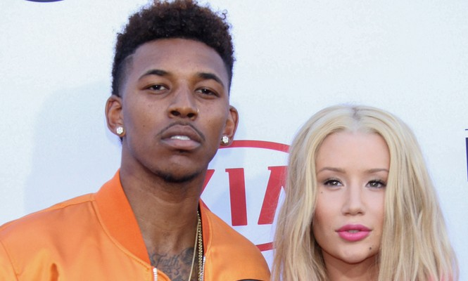 Cupid's Pulse Article: Celebrity News: Iggy Saves Fiance Nick Young from Tattoo Typo