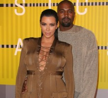 Kim Kardashian & Kanye West Celebrate 2 Year Celebrity Wedding Anniversary in Italy