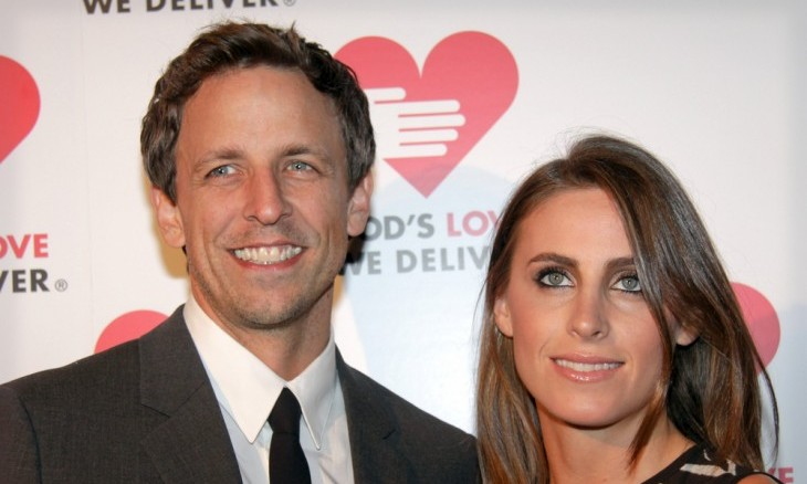 Cupid's Pulse Article: Celebrity Baby News: Seth Meyers and Wife Alexi Ashe Announce the Birth of Baby Boy