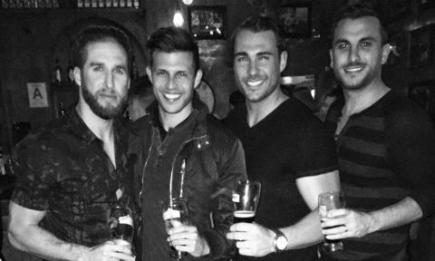 Cupid's Pulse Article: Celebrity News: 'Bachelorette' Star Shawn Booth Hangs with Fiancé Kaitlyn Bristowe's 3 Ex-Boyfriends