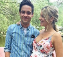 Celebrity Baby Shower: Former 'Bachelorette' Ali Fedotowsky Wears Floral Dress to Baby Shower