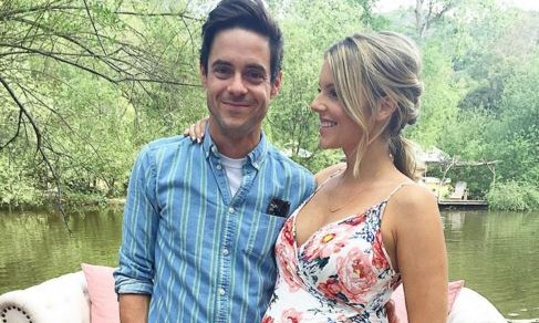 Cupid's Pulse Article: Celebrity Baby Shower: Former 'Bachelorette' Ali Fedotowsky Wears Floral Dress to Baby Shower