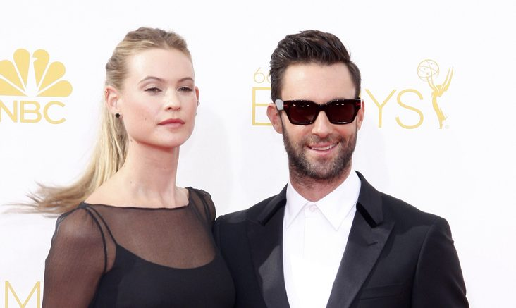 Cupid's Pulse Article: It Will Be a Celebrity Baby Girl for Adam Levine & Behati Prinsloo