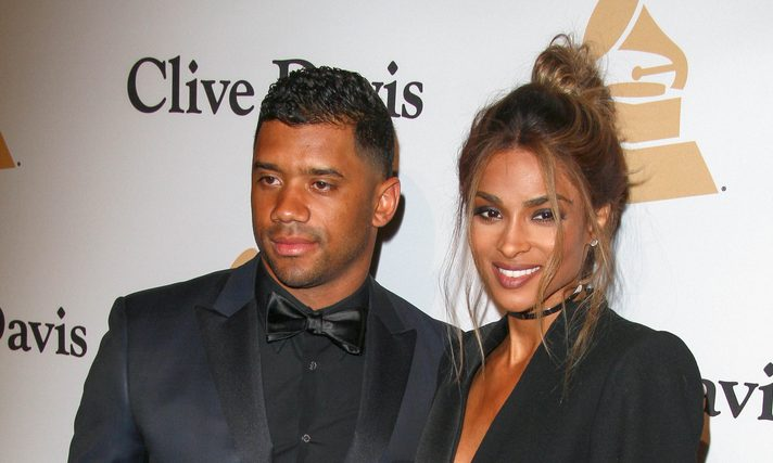 Russell Wilson and Ciara. Photo: PRPhotos.com