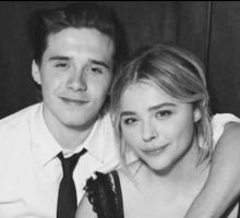 Celebrity Couple Chloe Grace Moretz & Brooklyn Beckham Make Red Carpet Debut