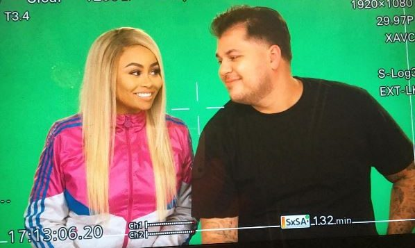 Blac Chyna and Rob Kardashian. Photo: Instagram