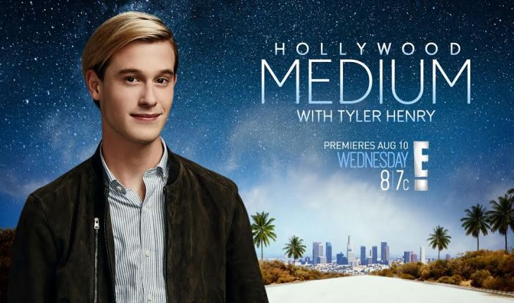 Hollywood medium & reality TV star Tyler Henry talks about his second season. Photo: NBC