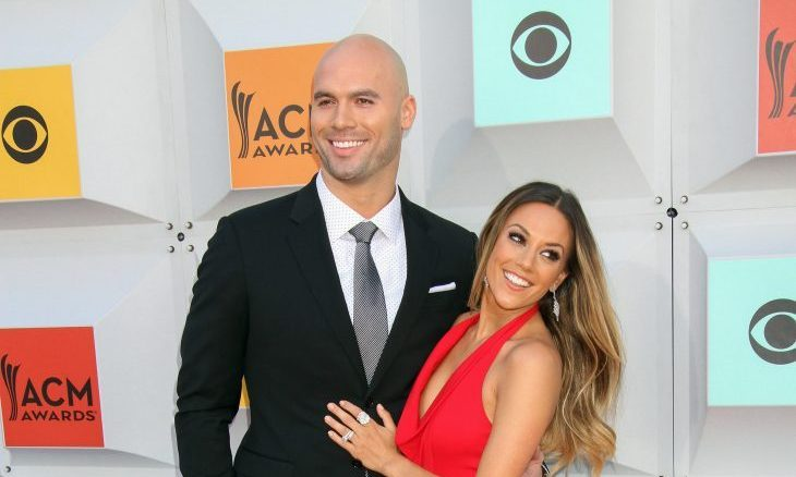 Mike Caussin and Jana Kramer. Photo: PRN / PRPhotos.com