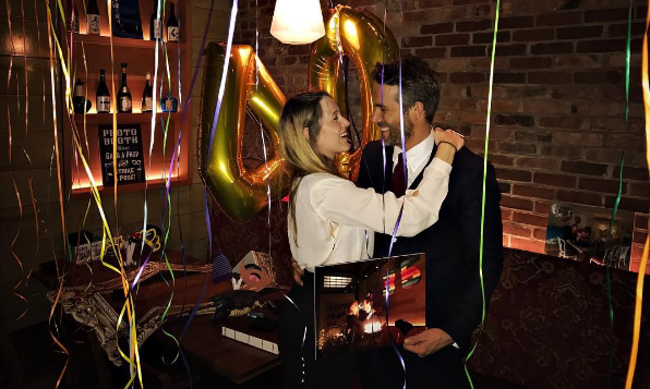 Cupid's Pulse Article: Celebrity Couple Blake Lively and Ryan Reynolds Celebrate His 40th Birthday in a Cute Way