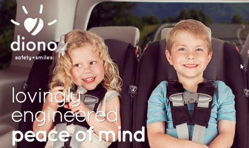 Cupid's Pulse Article: Product Review: Celebrity Moms Use Diono Convertible+Booster Car Seat For Travel