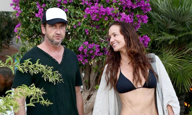 Cupid's Pulse Article: Celebrity Break-Up: Gerard Butler & Longtime Girlfriend Morgan Brown Split