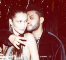 Celebrity Couple News: The Weeknd Cheers on Girlfriend Bella Hadid at Victoria's Secret Fashion Show