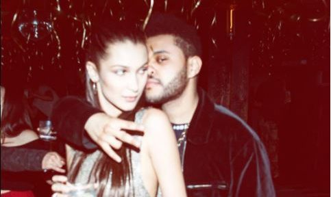 Cupid's Pulse Article: Celebrity Couple News: The Weeknd Cheers on Girlfriend Bella Hadid at Victoria's Secret Fashion Show