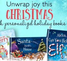 "Holiday Gift Guide ""Must-Have"": Personalized Books for Kids!"