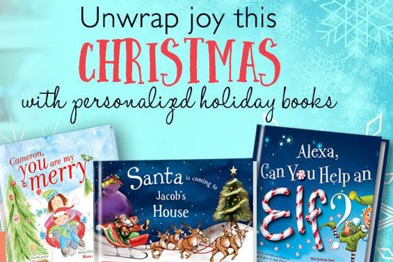"Cupid's Pulse Article: Holiday Gift Guide ""Must-Have"": Personalized Books for Kids!"
