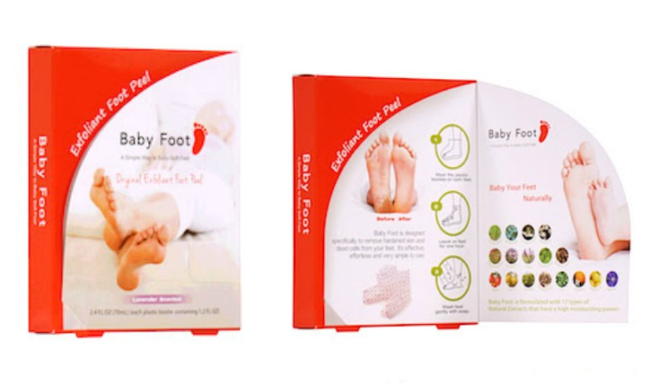 Cupid's Pulse Article: Product Review: Keep Skin Smooth With Baby Foot