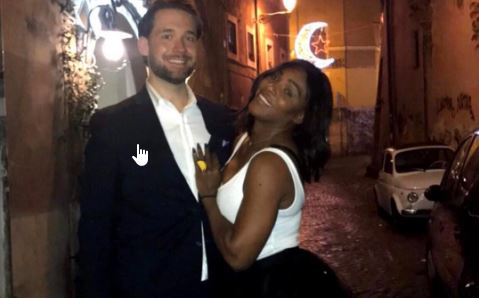 Cupid's Pulse Article: Celebrity Baby: Pregnant Serena Williams Gets Cozy with Boyfriend Alexis Ohanian on Babymoon