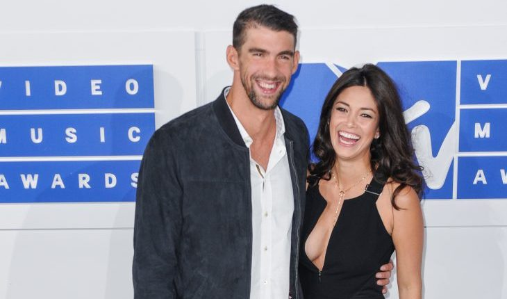 Cupid's Pulse Article: Celebrity Couple News: Michael Phelps & Wife Nicole Johnson Enjoy Rare Night Out