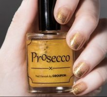 Beauty Tricks: Prosecco-Flavored Nail Polish
