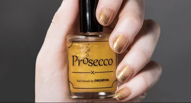 Cupid's Pulse Article: Beauty Tricks: Prosecco-Flavored Nail Polish