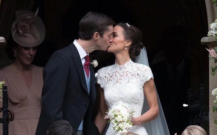Cupid's Pulse Article: Celebrity Wedding: Pippa Middleton Marries James Matthew in Front of Royal Attendees