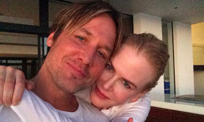 Cupid's Pulse Article: Celebrity News: Check Out Keith Urban's Adorable Anniversary Message to Nicole Kidman
