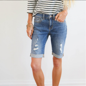 Cupid's Pulse Article: These Celebrity-Approved Denim Shorts Are the Cutting-Edge Fashion Trend for Summer