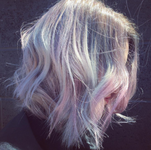 Cupid's Pulse Article: Beauty Trend: Holographic Hair Colors