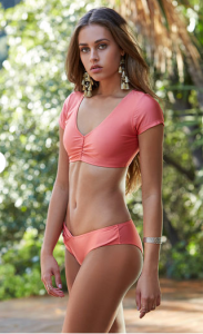 Cupid's Pulse Article: Fashion Trend: Splash Around in Crop Top Bikinis