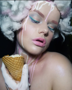 Cupid's Pulse Article: Ice Cream Makeup is the Craziest Beauty Trend of 2017 So Far