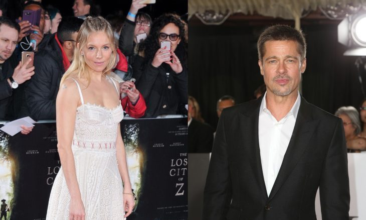 Cupid's Pulse Article: New Celebrity Couple? Brad Pitt & Sienna Miller 'Spending Some Time Together'