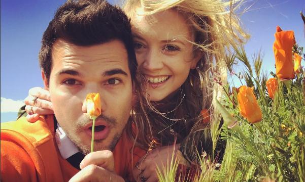 Cupid's Pulse Article: Celebrity Break-Up: Taylor Lautner and Billie Lourd Split After 8 Months Together