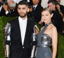 Celebrity Couple News: Gigi Hadid & Zayn Malik Celebrate 2 Years Together with a Kiss