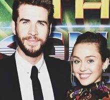 Celebrity Couple Miley Cyrus & Liam Hemsworth Go All Out for St. Patrick's Day 2018