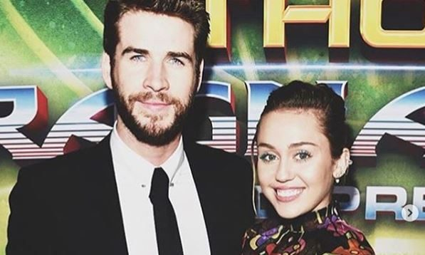 Cupid's Pulse Article: Celebrity News: Miley Cyrus & Liam Hemsworth Honeymoon in the Snow With His Family