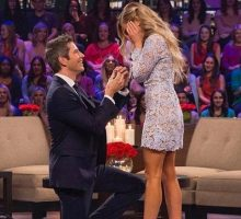 Celebrity Wedding: Bachelor Alum Arie Luyendyk & Lauren Burnham Talk Wedding & Baby!