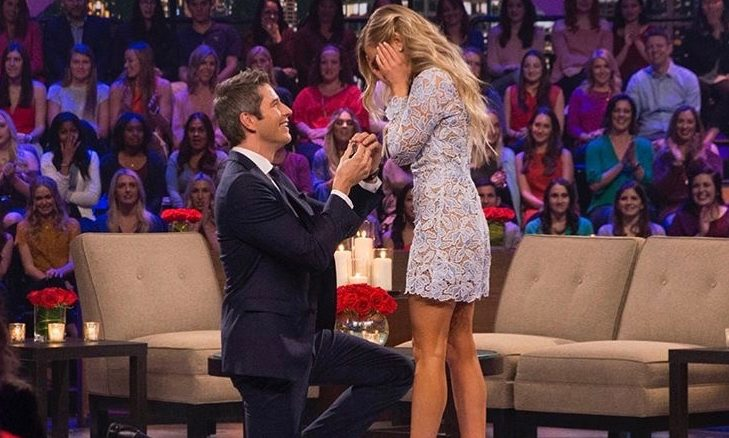 Cupid's Pulse Article: Celebrity Wedding: 'Bachelor' Arie Luyendyk Jr. Proposes to Lauren Burnham After Breaking Off Engagement to Becca