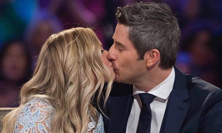 Cupid's Pulse Article: Celebrity Couple News: 'Bachelor' Arie Luyendyk Jr. & Lauren Burnham Have First Date Night Post-Engagement