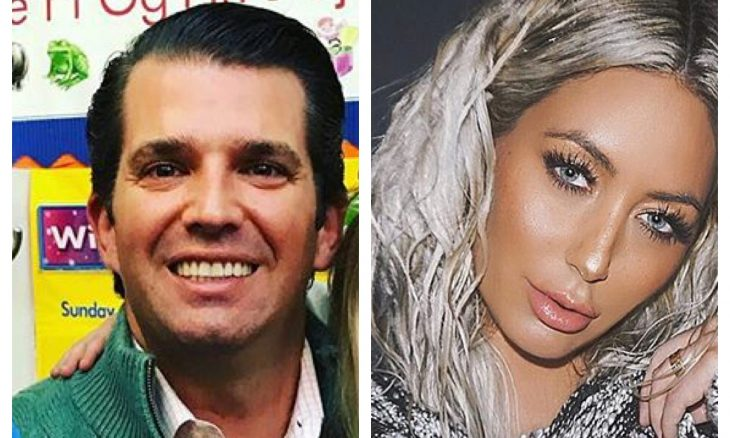 Cupid's Pulse Article: Celebrity Break-Up: Donald Trump Jr. Had an Affair with Aubrey O'Day During Marriage