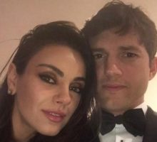 Celebrity Couple News: Ashton Kutcher Posts Sexy Photo with Wife Mila Kunis Pre-Oscars