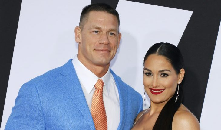 Cupid's Pulse Article: Celebrity News: Nikki Bella Is Still 'Spending Nights' with John Cena at His Home