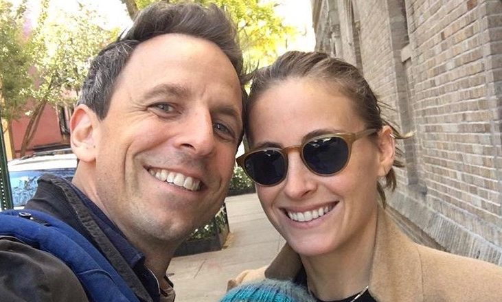 Cupid's Pulse Article: Celebrity Baby News: Seth Meyers Welcomes Second Child in the Lobby of His Apartment