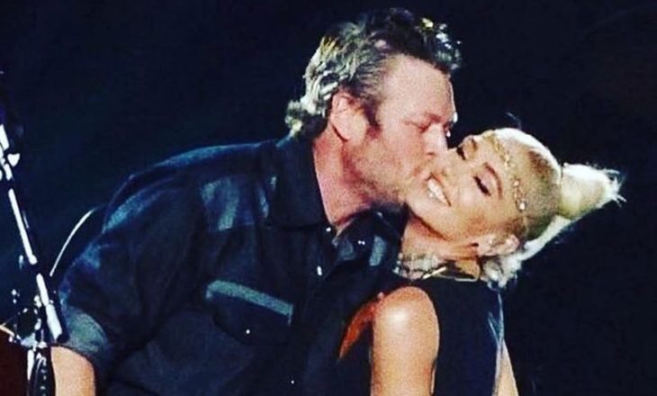 Cupid's Pulse Article: Celebrity Couple News: Gwen Stefani & Blake Shelton Attend Wedding Together