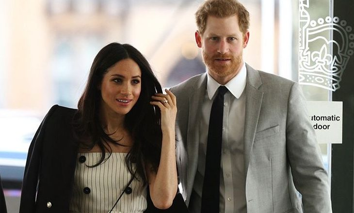 Cupid's Pulse Article: Celebrity Wedding: Prince Harry And Meghan Markle Are Out And Happy One Month Before Wedding