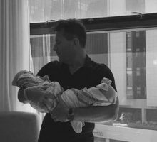 Kym Johnson & Robert Herjavec Welcome Celebrity Baby Twins
